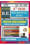All In One Exam Scanner For MECH, 6th Sem, Sunstar [As Per Latest VTU Syllabus]